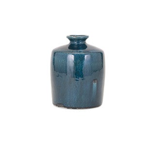 Arlo Blue Small Vase