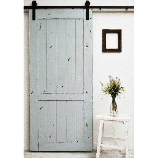 Dogberry Country Vintage 96-inch Barn Door  sc 1 st  Overstock.com & Dogberry Country Vintage 96-inch Barn Door - Free Shipping Today ...