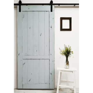 Dogberry Country Vintage 96-inch Barn Door|https://ak1.ostkcdn.com/images/products/10559996/P17638245.jpg?impolicy=medium