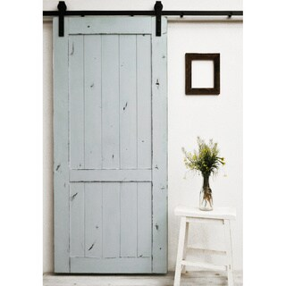 Dogberry Country Vintage 96-inch Barn Door