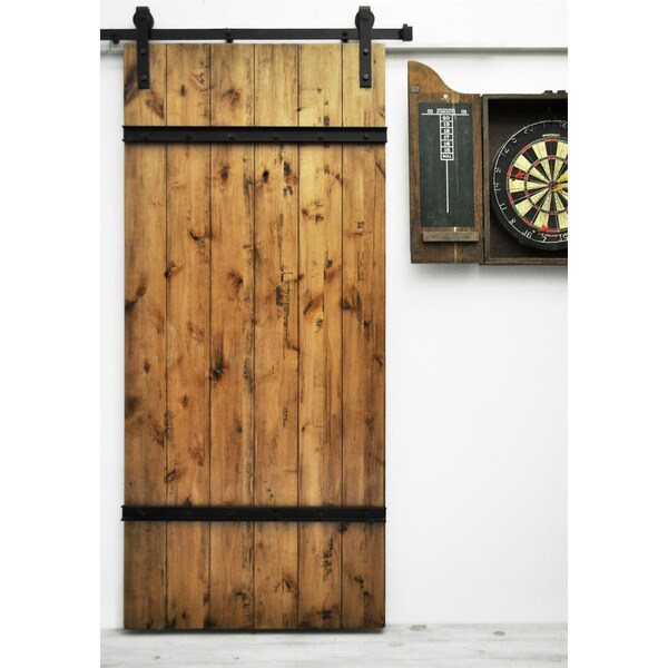 dogberry drawbridge 82 inch barn door free shipping With 20 inch barn door
