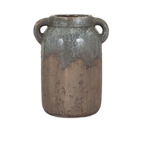 Shop Bardot Blue Stone Large Ceramic Vase On Sale Free Shipping