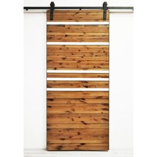 Dogberry Line 'Em Up 82-inch Barn Door