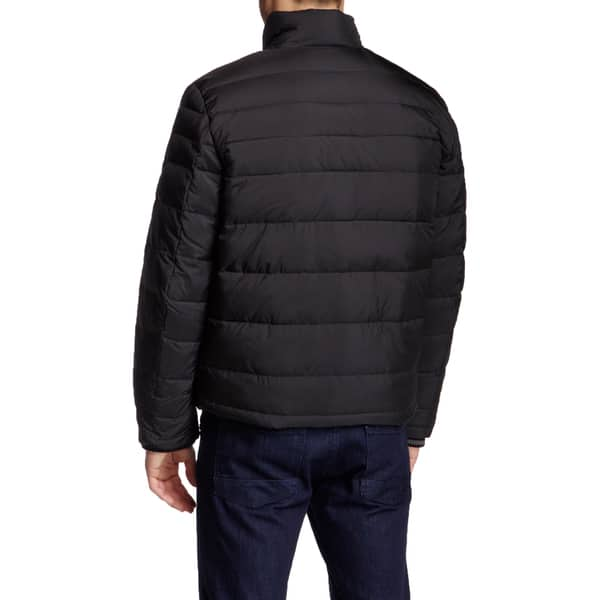 Kenneth Cole New York Mens Front-Zip Down-Fill Puffer Jacket