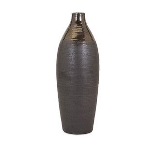 Calin Large Bronze Top Vase