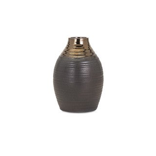 Calin Small Bronze Top Vase