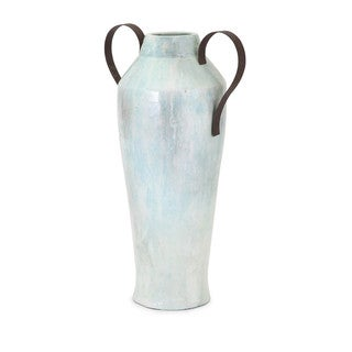 Large Torres Vase with Metal Handle