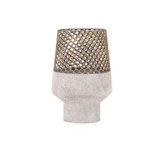 Rowan Small Metal Vase