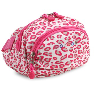 J World Pink Leopard Levee Waist Pack