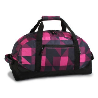 J World Block Pink Lawrence 30-inch Sport Duffel Bag
