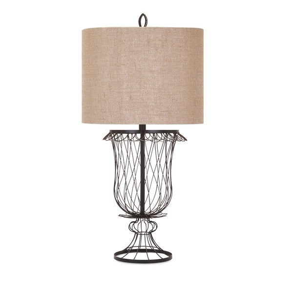 Erika wire urn lamp ships to canada overstock 17638437 erika wire urn lamp greentooth Gallery