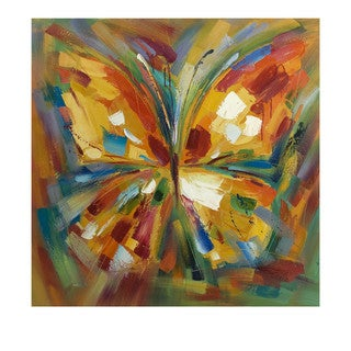 Lavinia Butterfly Oil Painting