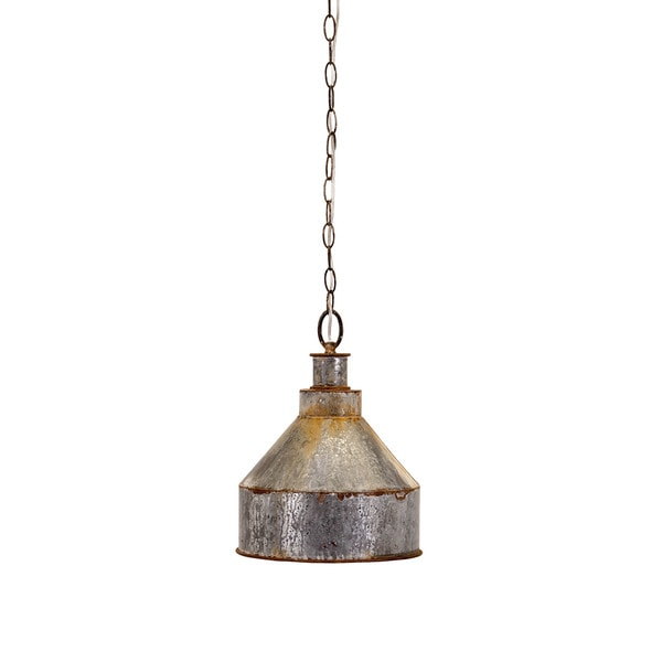 Rogers Galvanized Pendant Light Free Shipping Today