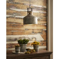 The Gray Barn Snodgrass Galvanized Pendant Light