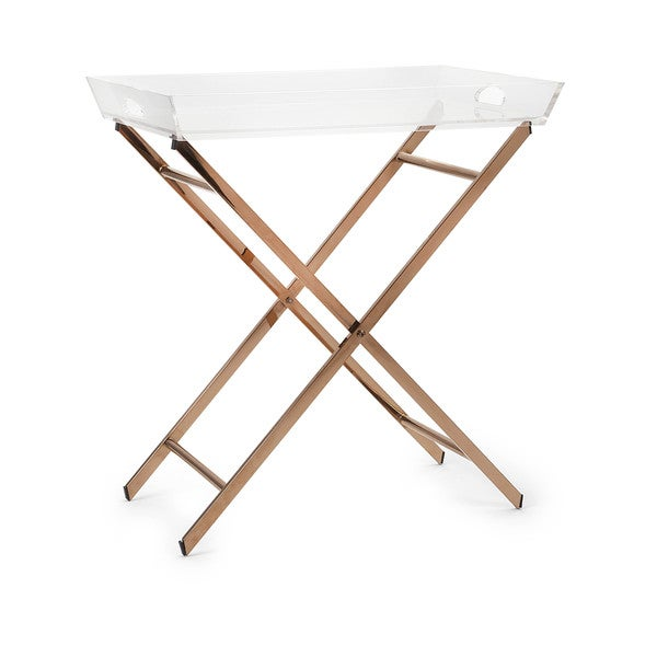 Shop Clinton Acrylic Tray Table