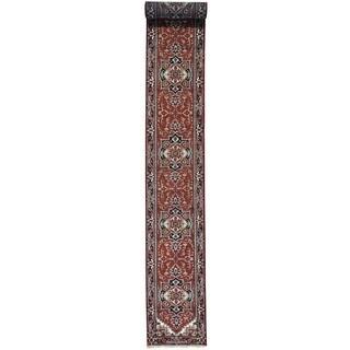 XL Runner Serapi Heriz Hand-Knotted Oriental Rug (2'6 x 20'1)
