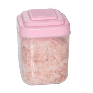 Coarse Granulated Original Himalayan Crystal Salts in Pink Jar