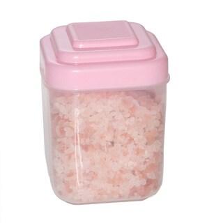 Coarse Granulated Original Himalayan Crystal Salts in Pink Jar