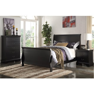 Khotyn Black 3-piece Youth Bedroom Set