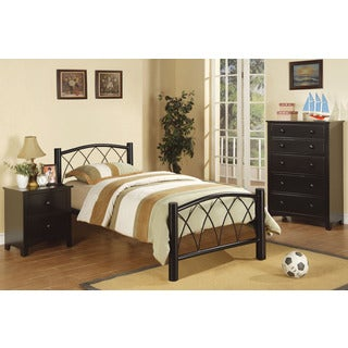 Buryn Black 3-piece Youth Bedroom Set
