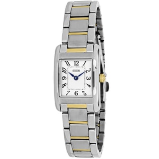 Coach Women's 14501896 Lexington Rectangle Two-tone Stainless Steel Bracelet Watch
