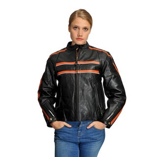 Wilda Women's Krista Motorcycle Leather Jacket