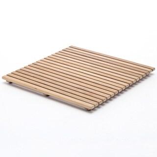 Nova Solo 24-inch Teak Wood Tile