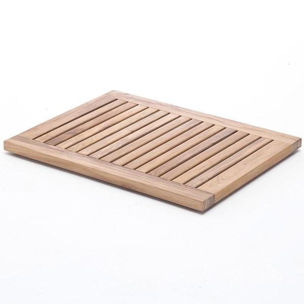 Shop nova solo  inch teak wood tile free