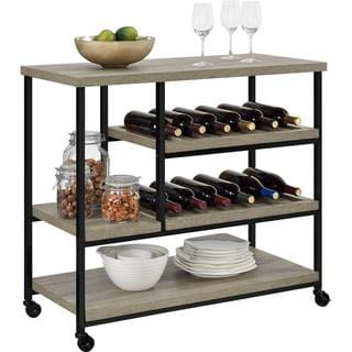 Altra Elmwood Multi-purpose Rolling Cart
