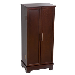 Mele & Co Lynwood Wooden Jewelry Armoire