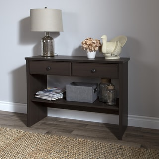 South Shore Beaujolais Console Table with Two Drawers