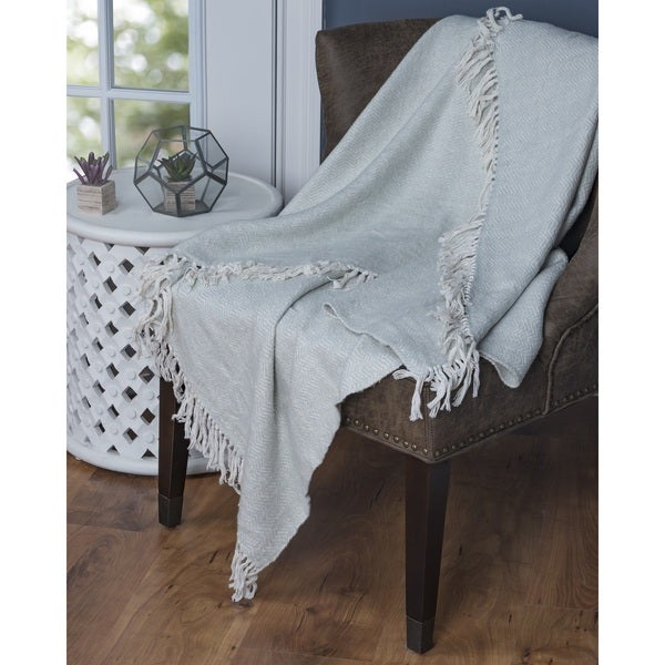 Arden Loft Comfrey 100-percent Cotton Throw