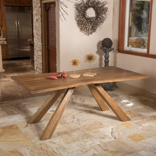 Christopher Knight Home Montaverde Oak Wood Dining Table (ONLY)