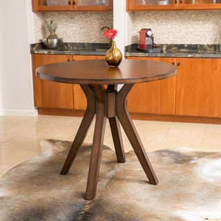 Christopher Knight Home Tehama Round Counter Height Wood Mid-century Style Dining Table (ONLY)