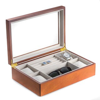 Bey Berk Wood Valet and Watch Box|https://ak1.ostkcdn.com/images/products/10560757/P17638915.jpg?impolicy=medium