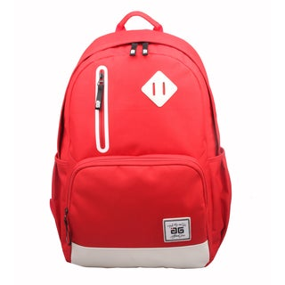 AfterGen Red Back to School 15-inch Laptop Backpack