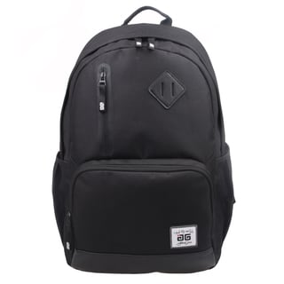 AfterGen Black Back to School 15-inch Laptop Backpack