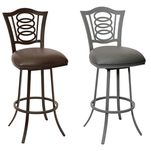 Brilliant Shop Essex 30 Inch Transitional Barstool In Coffee Gmtry Best Dining Table And Chair Ideas Images Gmtryco