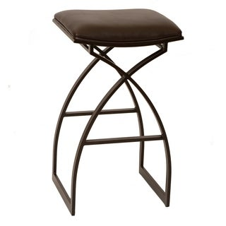Harper 30-inch Transitional Barstool In Coffee Leatherette