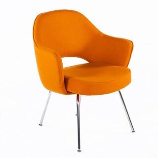 Hans Andersen Orange Peterson Arm Chair