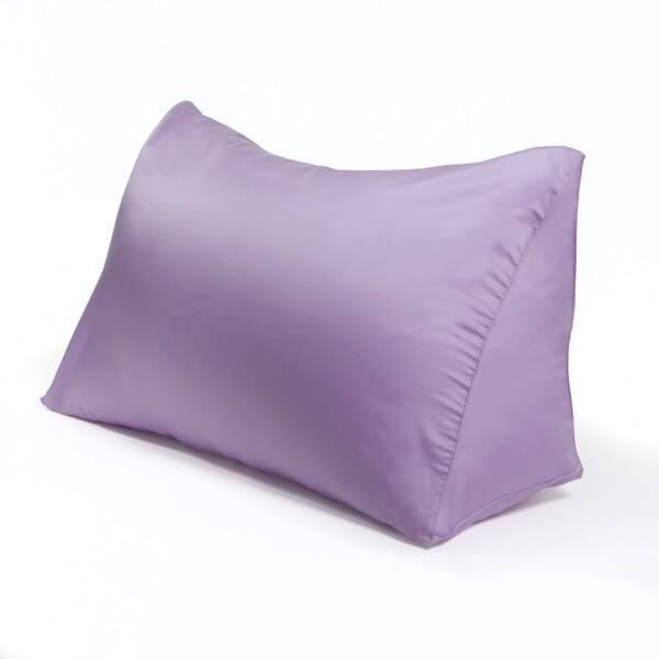 Silky Soft 100-percent Tencel Lyocell Fabric Reading Wedge Pillow Color Cover