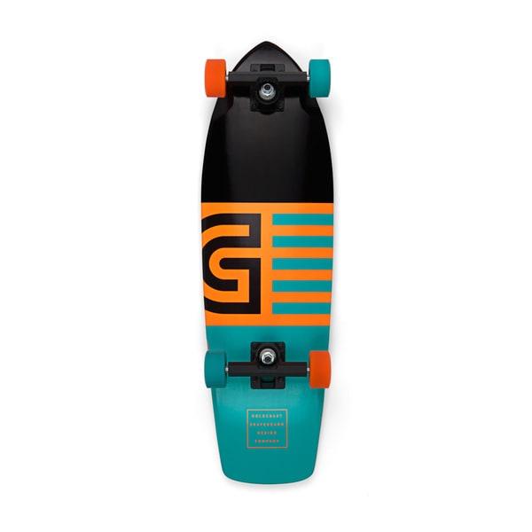 GoldCoast Jetty Blue Cruiser Skateboard Complete