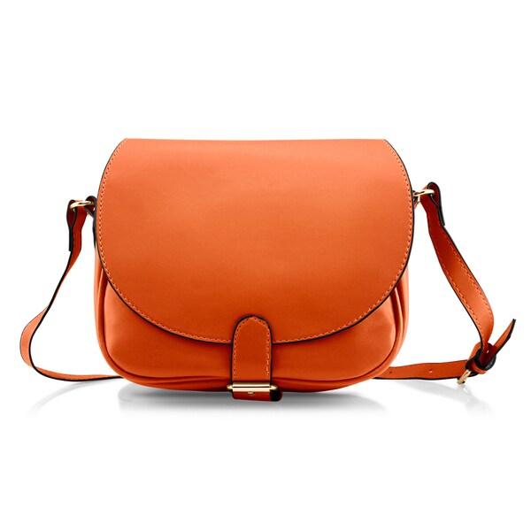 Gearonic Fashion Women Crossbody Handbag PU Leather Shoulder Bag