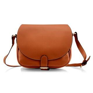 Gearonic Fashion Women Crossbody PU Leather Shoulder Bag (Option: Brown)