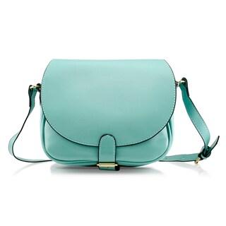 Gearonic Fashion Women Crossbody PU Leather Shoulder Bag (Option: Green)