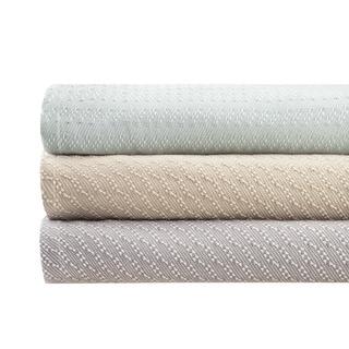 Madison Park Bernal Yarn Dye Liquid Cotton Blanket