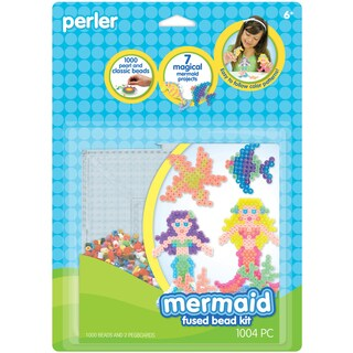 Perler Fun Fusion Fuse Bead Activity KitMermaid