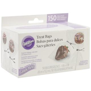 Candy Melt Mega Pack Of Bags W/Ties 150/Pkg4inX6in
