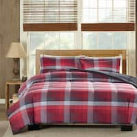 Woolrich Terpun Red Softspun Down Alternative Comforter Set