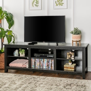 70-inch Essentials TV Stand - Black